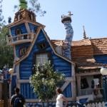 Cartoon house in toon land