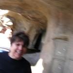 Mom riding the Matterhorn!