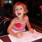 Madeleine Hams It Up at The Paramount Cafe