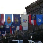 State Flags over Larimer Square I