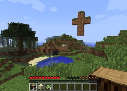 Jesus minecraft screenshot