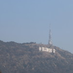 Hazy Hollywood Sign