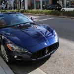 A Maserati on Rodeo Drive
