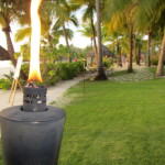 Tiki party welcome torch