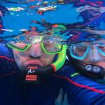Underwater selfy!
